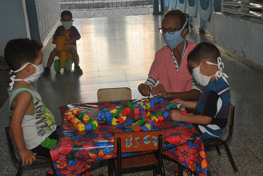 Beneficiará a madres trabajadoras camagüeyanas, reapertura de círculos infantiles y seminternados